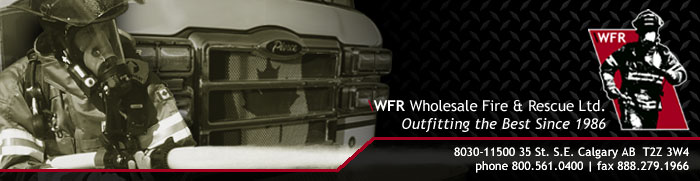 WFR Wholesale Fire & Rescue Ltd. Outfitting the Best Since 1986.